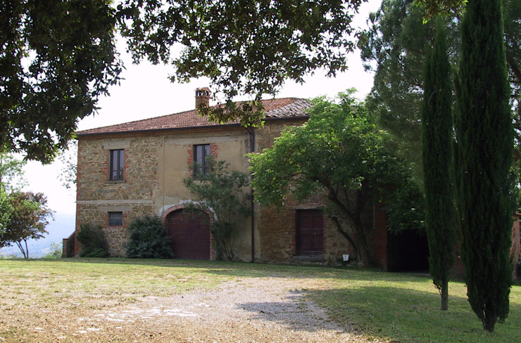 Country House Siena Caruso-Torricella Architetti Casa rurale