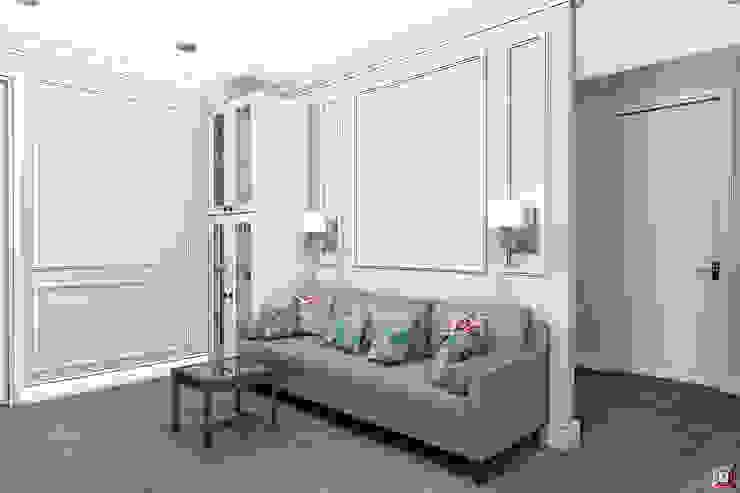 Квартира на ул. Садовая Гостиная в классическом стиле от A.workshop Классический