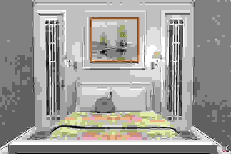 Квартира на ул. Садовая Спальня в классическом стиле от A.workshop Классический