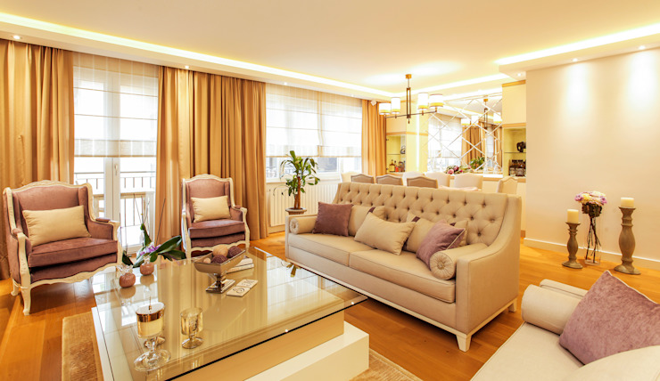 Gaia Klasik Oturma Odası Canan Delevi Klasik