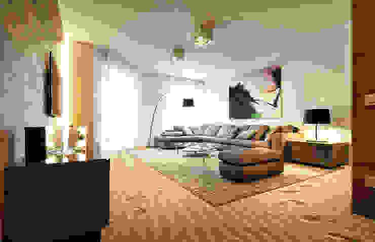 Tech & Graphic Project Paredes y pisos de estilo industrial
