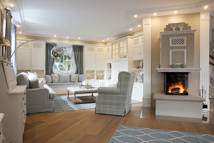 Country style living room by Beinder Schreinerei & Wohndesign GmbH Country