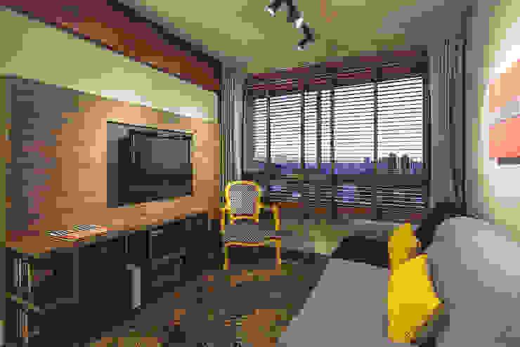 Modern Living Room by Arquiteto Gustavo Redlich & Associados Modern