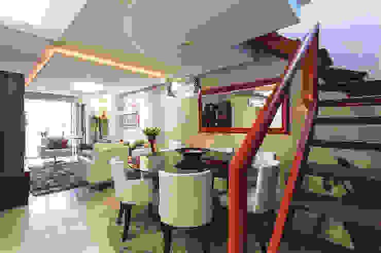 Apartamento Menino Deus Salas de jantar modernas por Arquiteto Gustavo Redlich & Associados Moderno