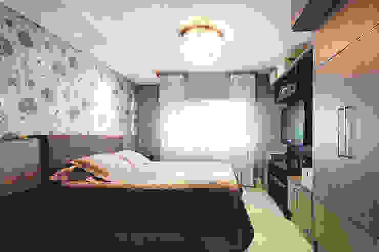 Apartamento Menino Deus Quartos modernos por Arquiteto Gustavo Redlich & Associados Moderno