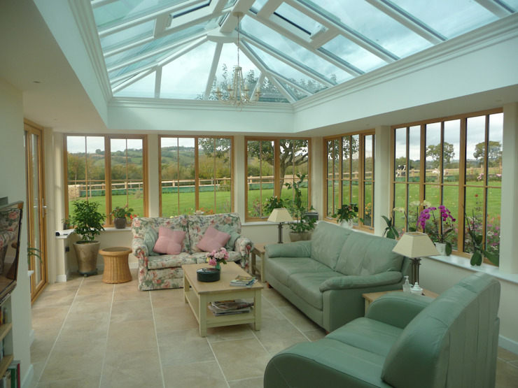 Orangeries Jardins de inverno modernos por Franklin Windows Moderno