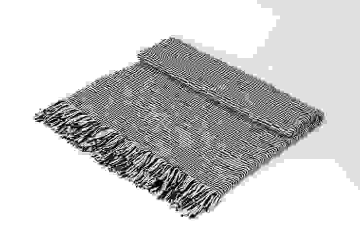 Handwoven Cotton Throws & Blankets: modern  by Teresa Georgallis, Modern