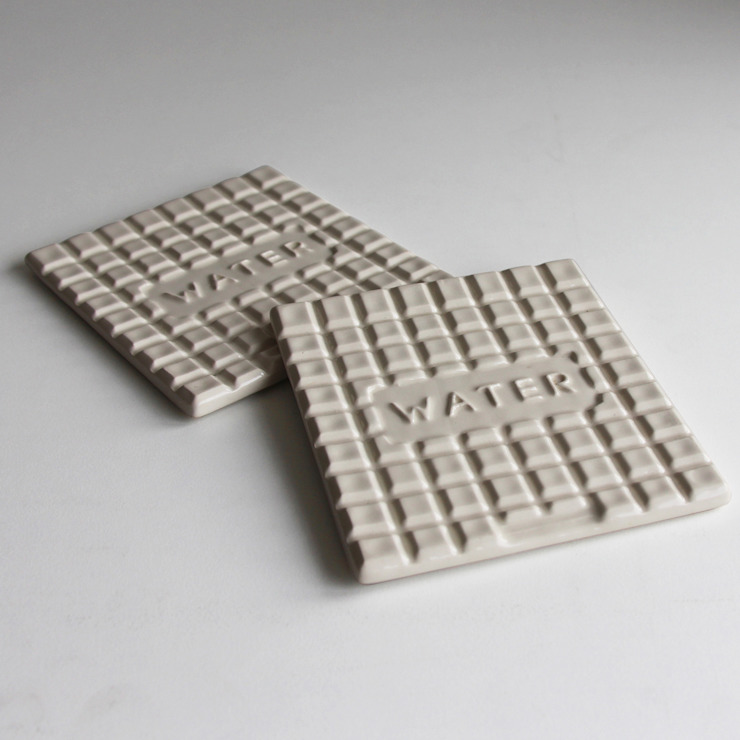 Manhole Coasters: industrial  by StolenForm, Industrial