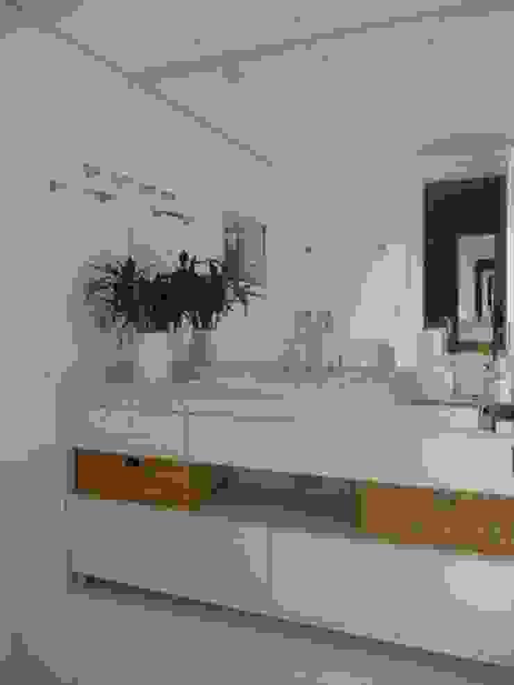Banheiro Banheiros ecléticos por Pereira Reade Interiores Eclético