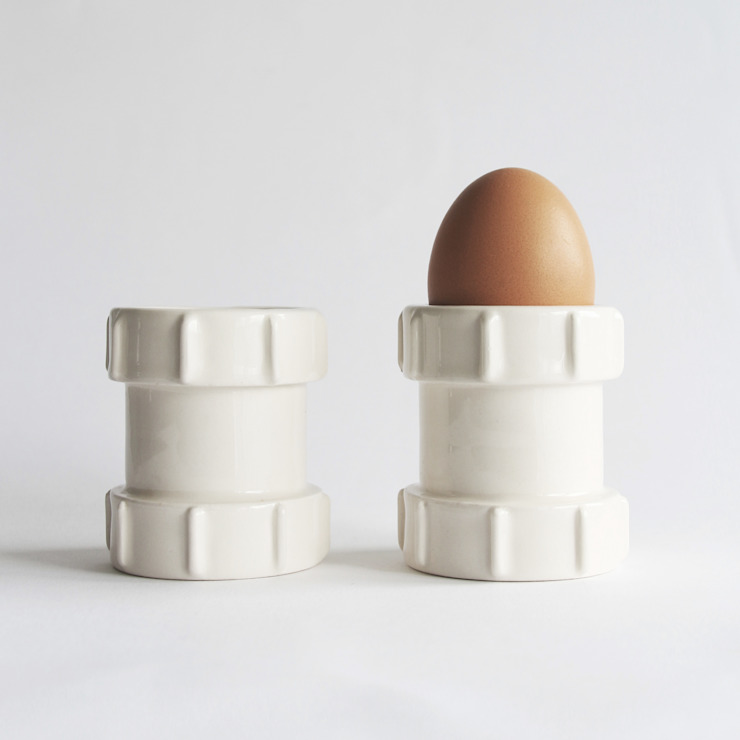 Pipe Egg Cups: industrial  by StolenForm, Industrial