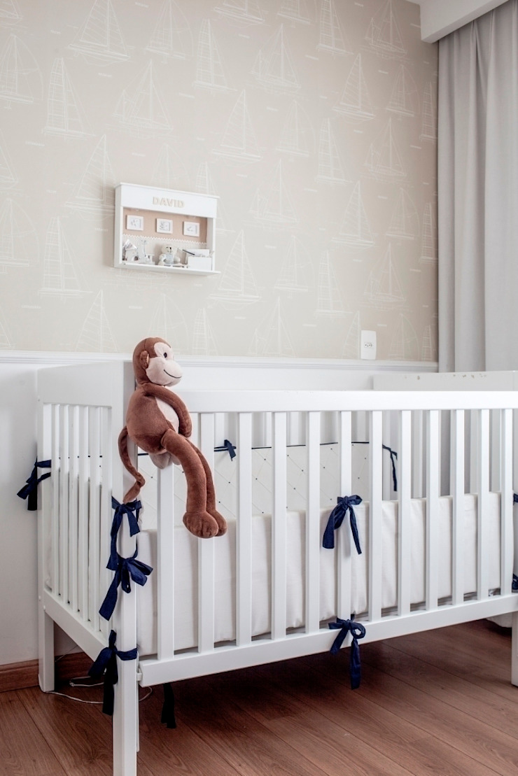 Dormitorios infantiles de Pereira Reade Interiores Ecléctico