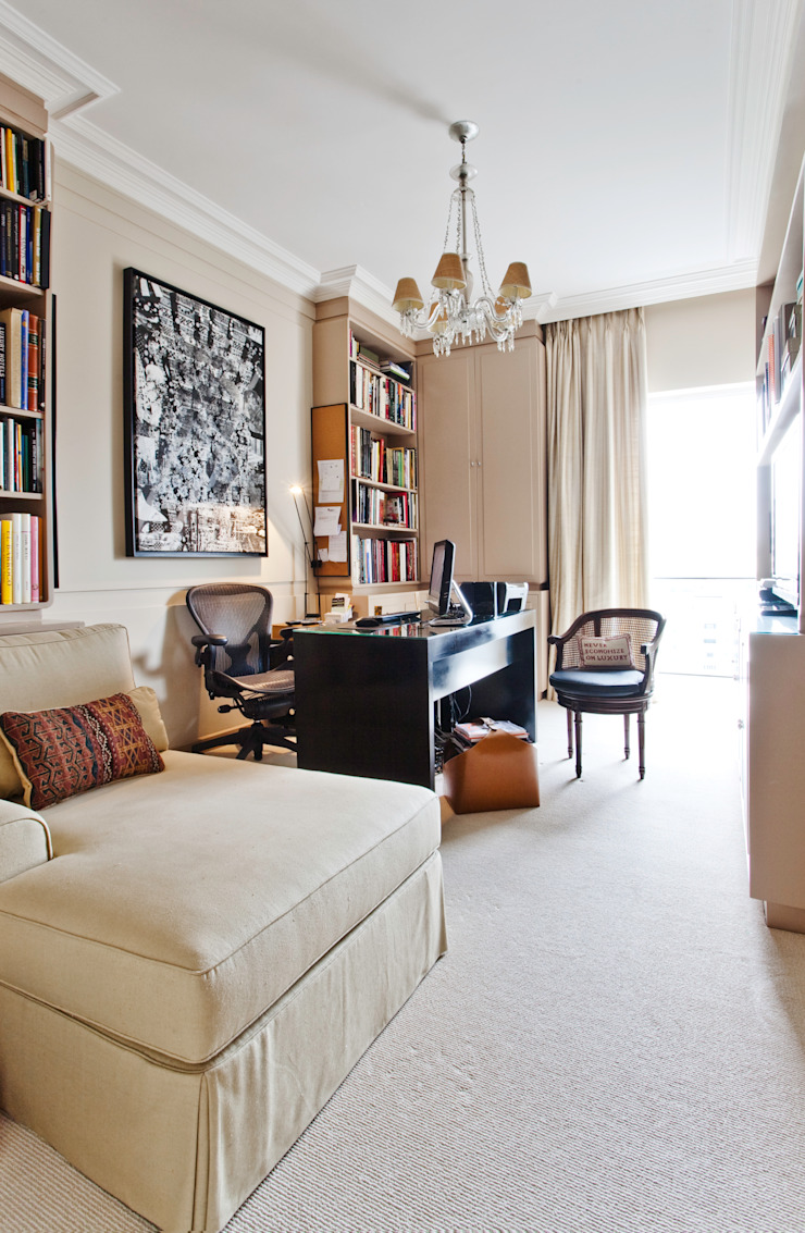 Home Office Escritórios clássicos por Pereira Reade Interiores Clássico