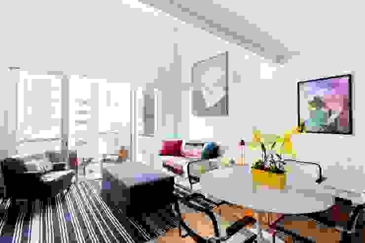Loft Salas de estar modernas por Pereira Reade Interiores Moderno