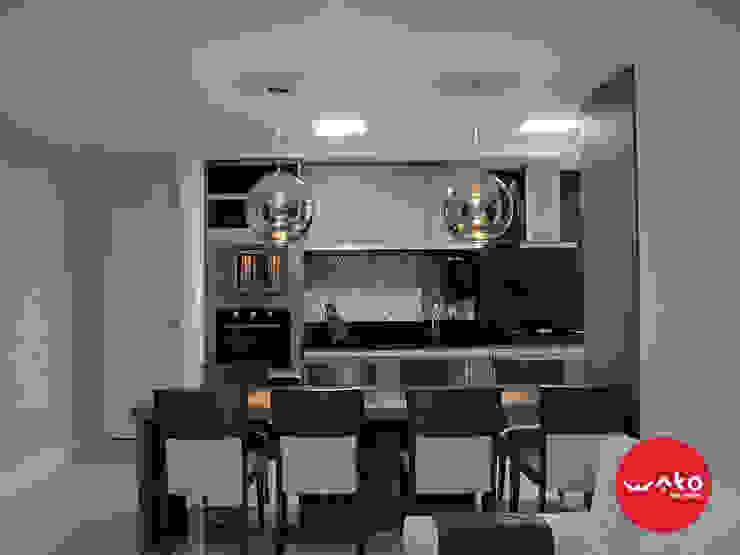 Cocinas de estilo moderno de WAKO Design de Interiores Moderno