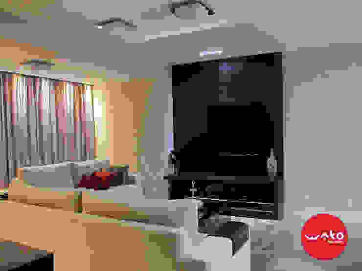 Livings de estilo moderno de WAKO Design de Interiores Moderno