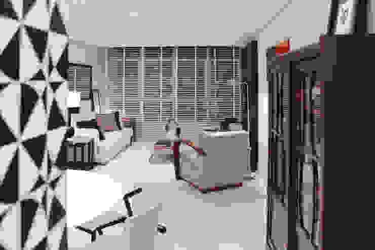 APARTAMENTO À BEIRA-MAR | SEASIDE APARTMENT Salas de estar modernas por Sandro Clemes Moderno