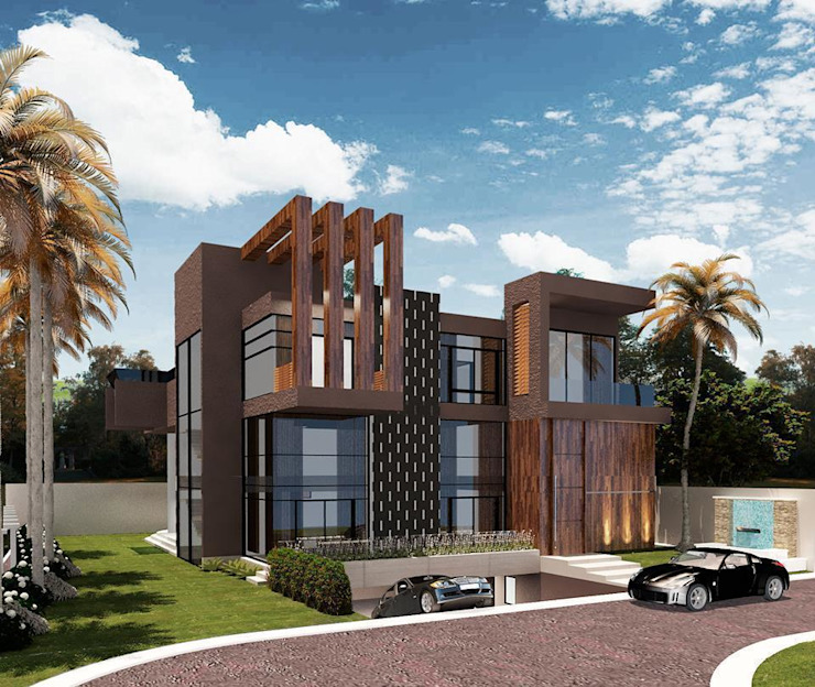 CASA 11 ESTALEIRINHO_SC Casas modernas por TRAÇO FINAL ARQUITETURA E INTERIORES Moderno