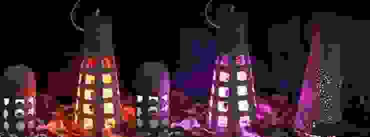 """Natural Lamp"" foto de la familia de luminarias de 'Folias De Spagna Studio' Mediterráneo"
