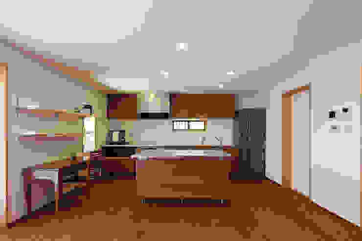 白根博紀建築設計事務所 Modern Dining Room