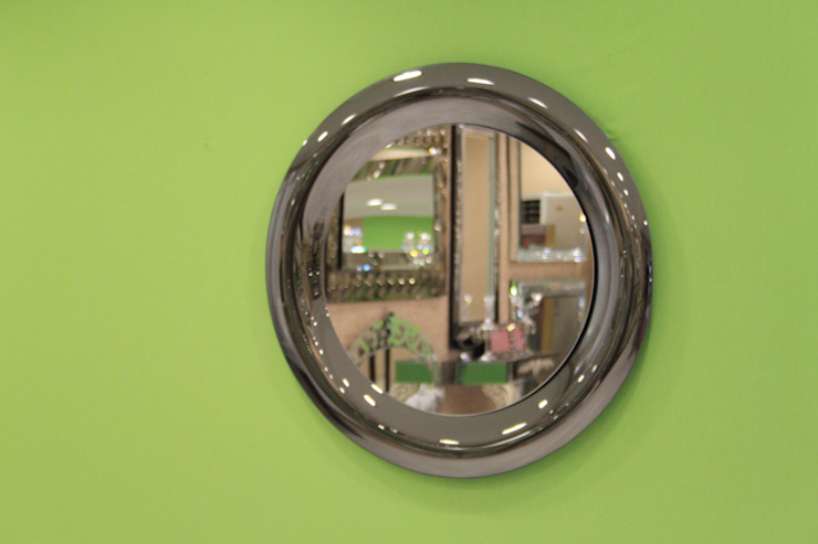 Anadolu Ayna – Yuvarlak bombeli ayna: minimalist tarz , Minimalist