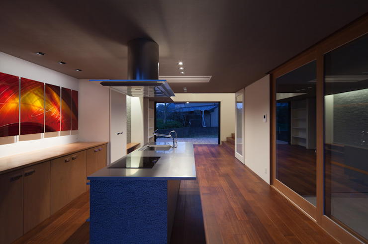 belvedere オリジナルデザインの キッチン の MOVEDESIGN オリジナル