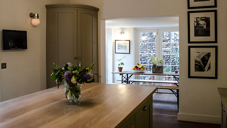 Chichester Town House Industrial style kitchen by Tim Jasper Industrial