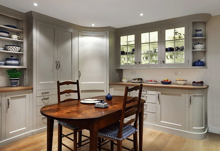Village manor house Country style kitchen by Tim Jasper Country