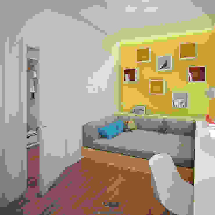Rogaleva Детская комнатa в стиле минимализм от DA-Design Минимализм