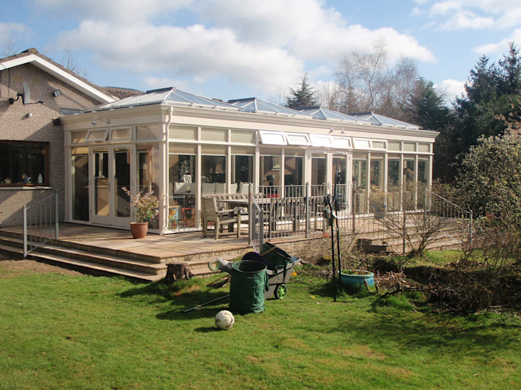 Conservatory 6 Country style conservatory by Stange Kraft Ltd Country