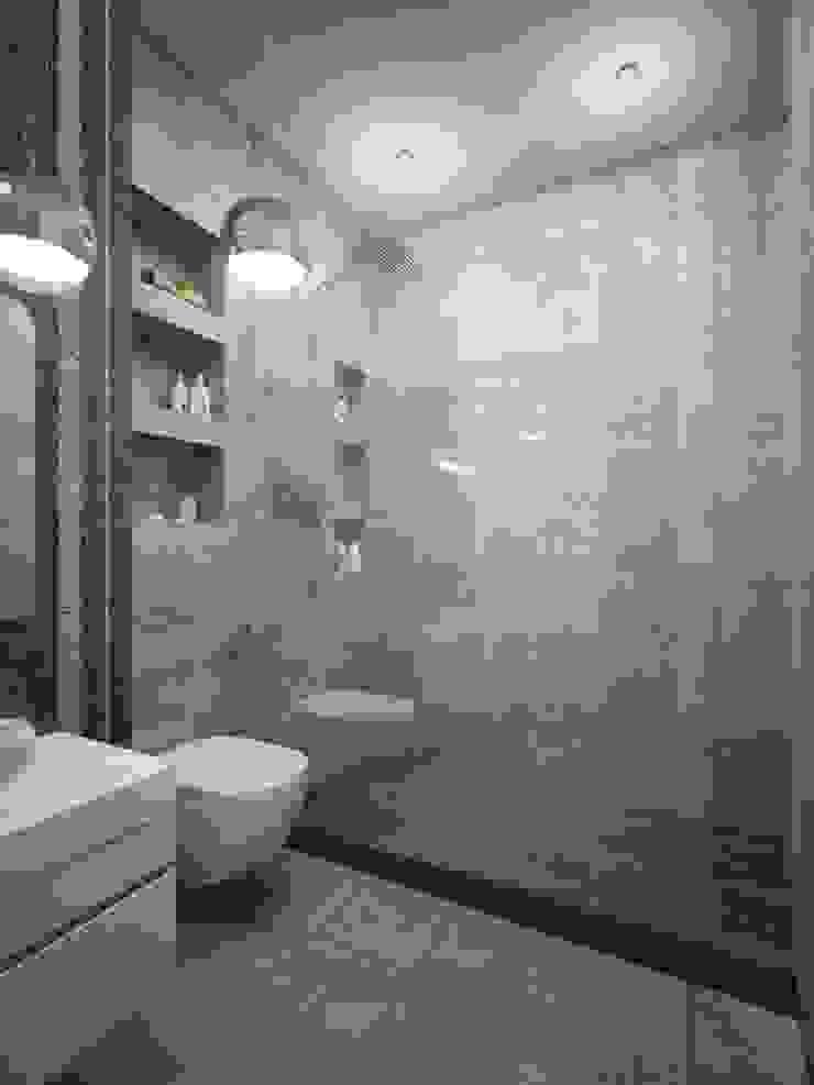 모던스타일 욕실 by White & Black Design Studio 모던