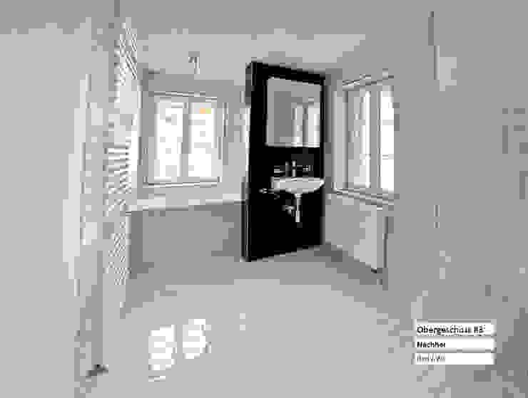 Ванные комнаты в . Автор – raumquadrat GmbH,