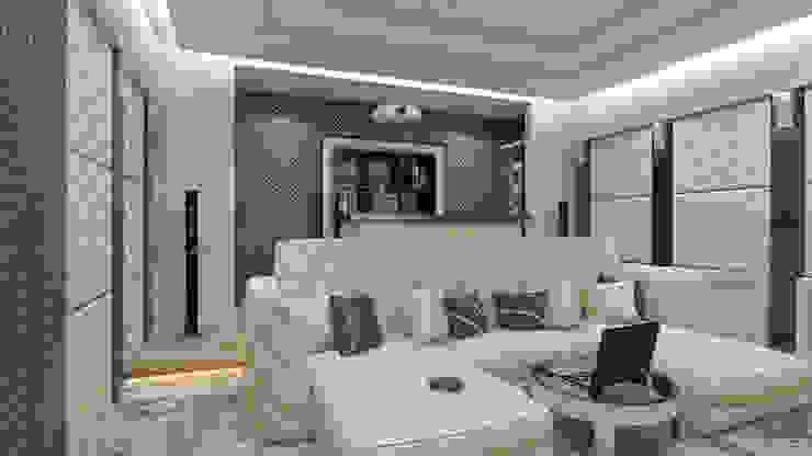 дизайн интерьера коттеджа Медиа комната в классическом стиле от архитектор-дизайнер Алтоцкий Михаил (Altotskiy Mikhail) Классический
