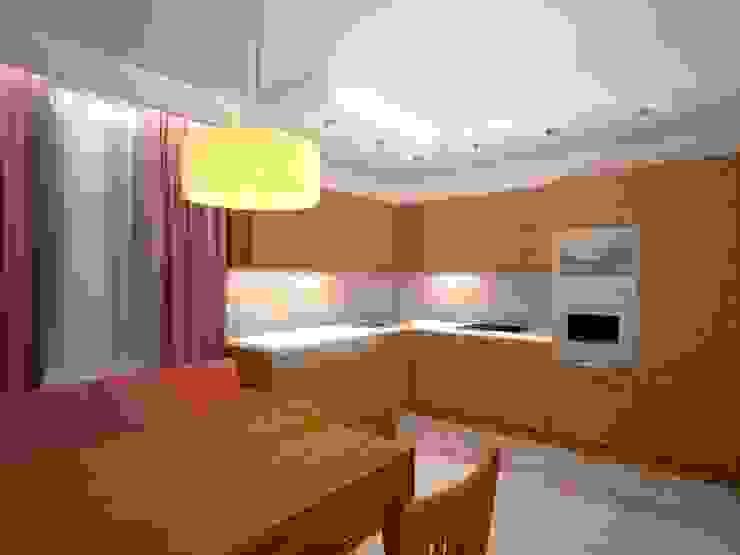 Проект кухни Кухня в скандинавском стиле от Универсальная история Скандинавский