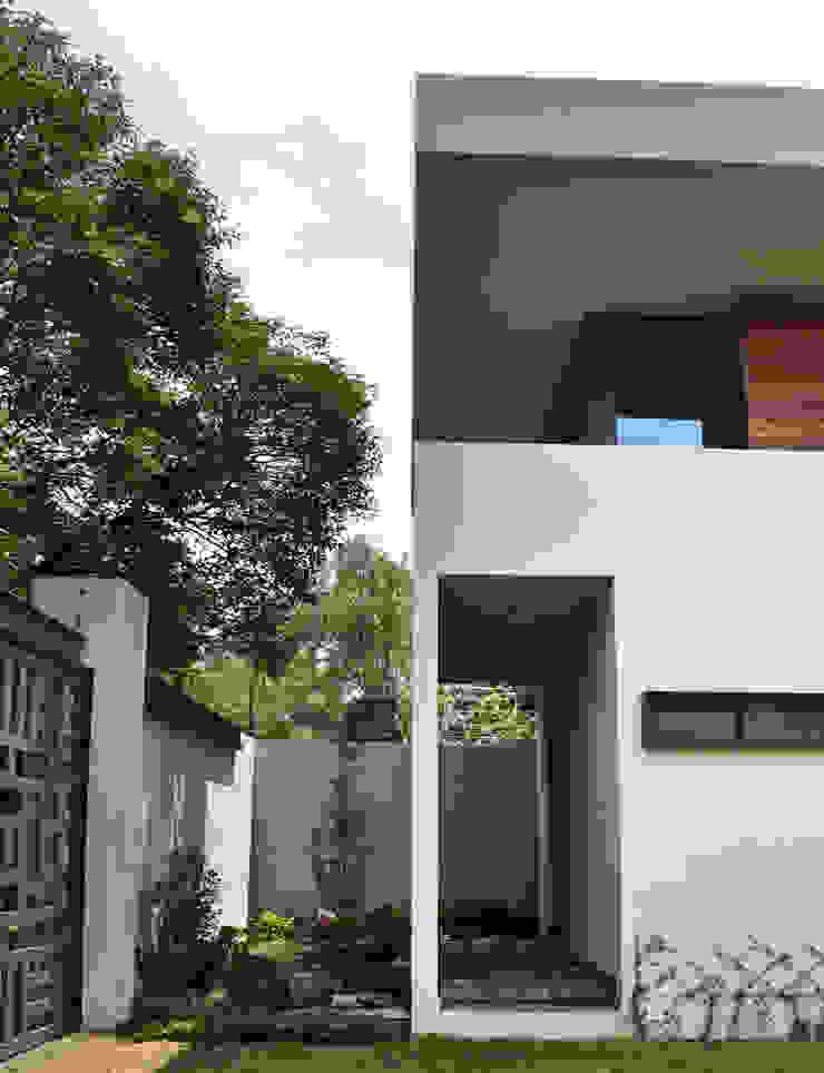 CASA UD Casas modernas de citylab Laboratorio de Arquitectura Moderno