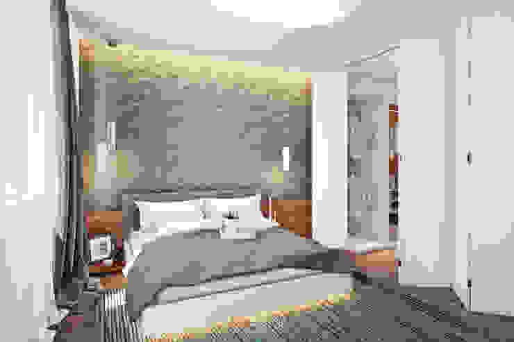 Rogaleva Спальня в стиле минимализм от DA-Design Минимализм