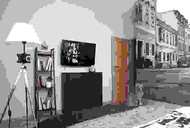 FotoLampa DRUH FLOOR: styl , w kategorii  zaprojektowany przez RefreszDizajn,Minimalistyczny