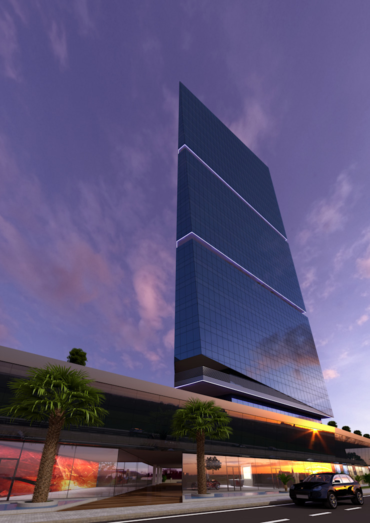 Mihrapli Business Center Bursa/Turkey (Drafting) Can Şimşek Mimarlık Atölyesi