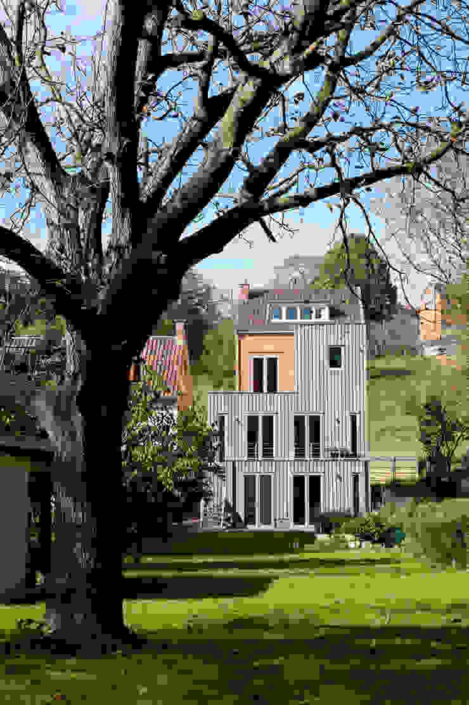 Gevel tuinzijde van Artesk van Royen Architecten