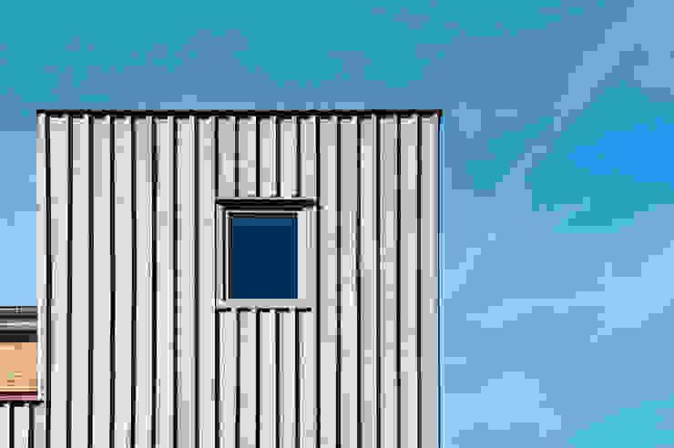 Detail uitbouw van Artesk van Royen Architecten