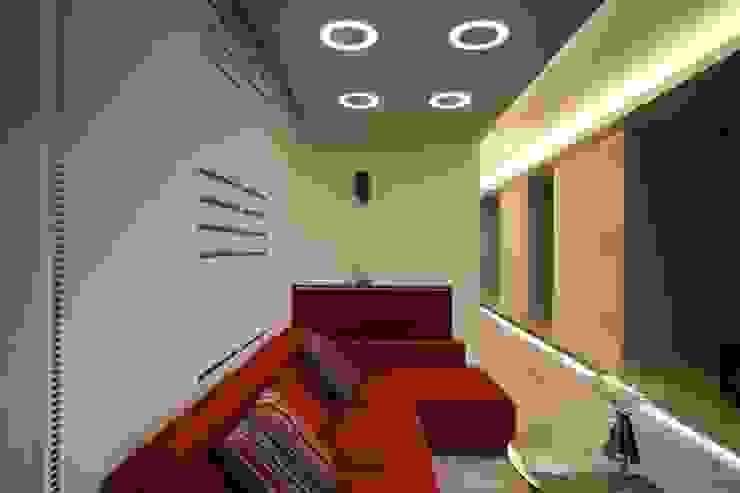 Living room, hall:  Wohnzimmer von homify,Modern