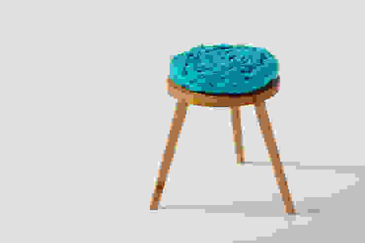 Whippy Stool: rustic  by Jane Crisp Bespoke Designer Maker, Rustic
