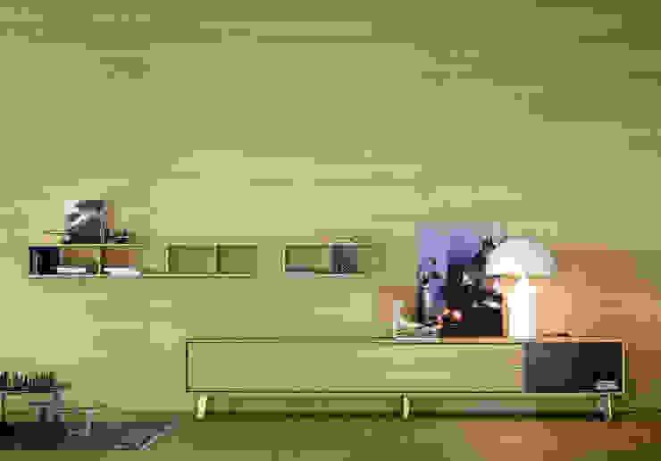 Propuestas para salón Salones de estilo moderno de Europa 20 Moderno