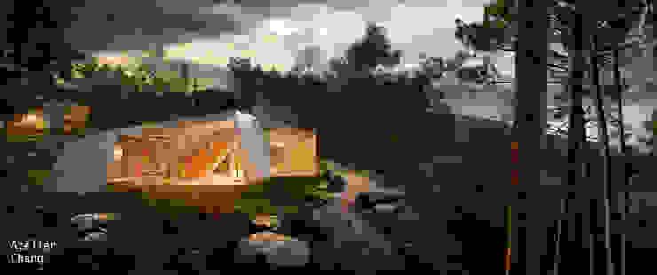 Knot House unfolds in Geoje Island, South Korea by Artrier Chang