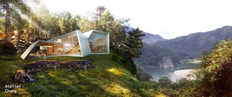 Knot House unfolds in Geoje Island, South Korea by Artrier Chang