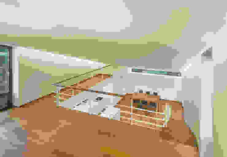 Modern Corridor, Hallway and Staircase by PRAUD Modern