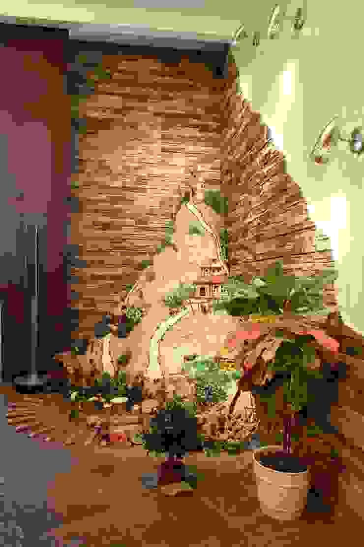 фрагмент гостиной, стиль контемпорари ( современный) от LO designer / architect - designer ELENA OSTAPOVA