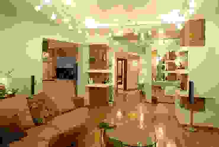гостиная, стиль контемпорари ( современный) от LO designer / architect - designer ELENA OSTAPOVA