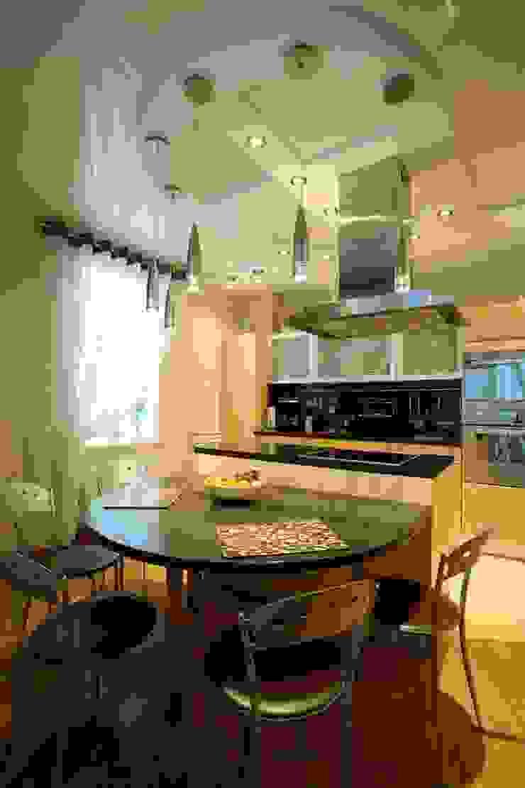кухня - столовая, стиль контемпорари ( современный) от LO designer / architect - designer ELENA OSTAPOVA