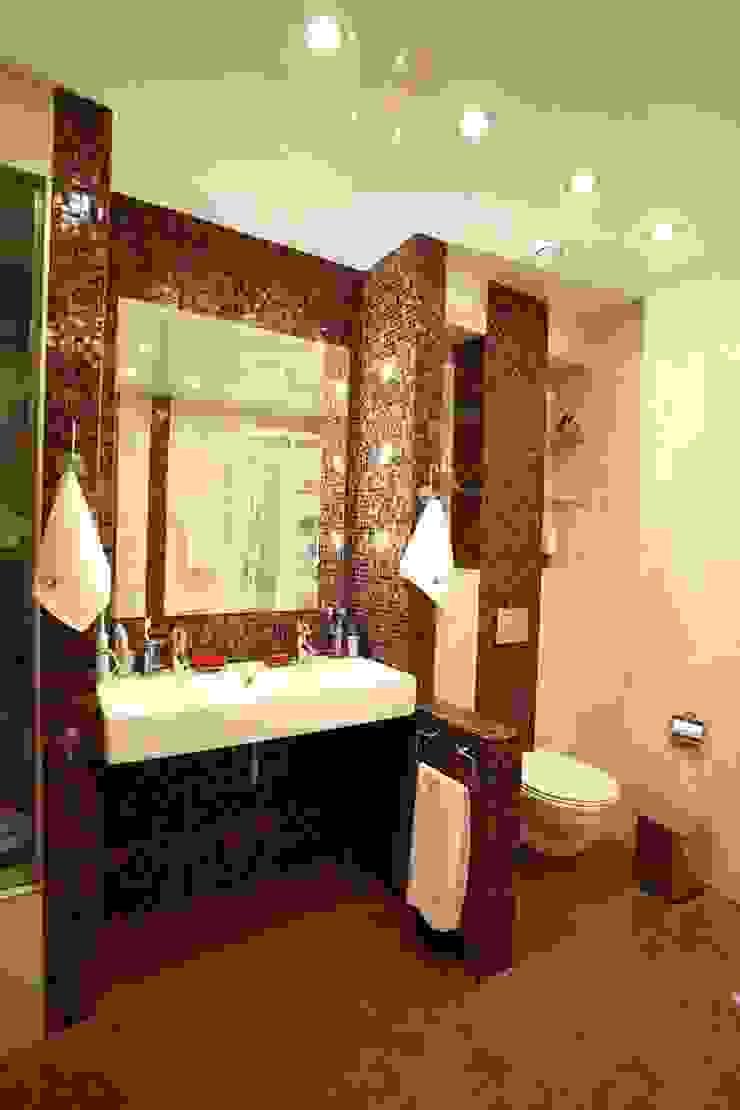 ванная, стиль контемпорари ( современный) от LO designer / architect - designer ELENA OSTAPOVA