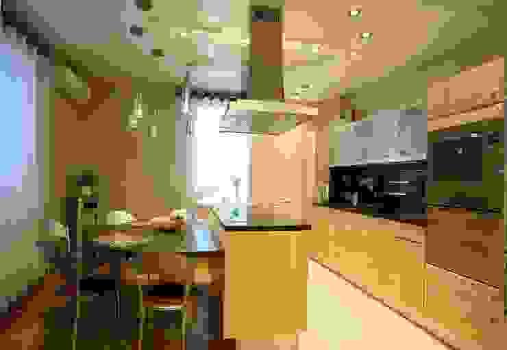 Modern interior of an apartment, styles of contemporary by LO designer / architect - designer ELENA OSTAPOVA
